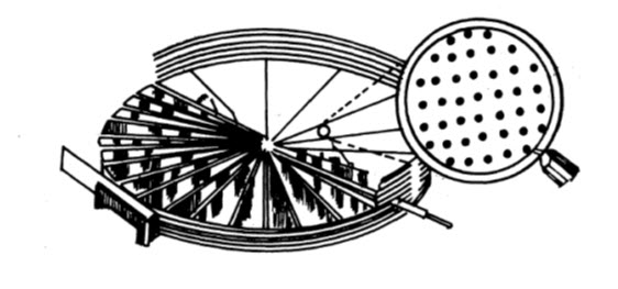Perforated floor cross-section for aeration