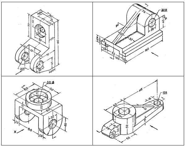 D&CG: LESSON 5  Sectional drawing of simple machine parts