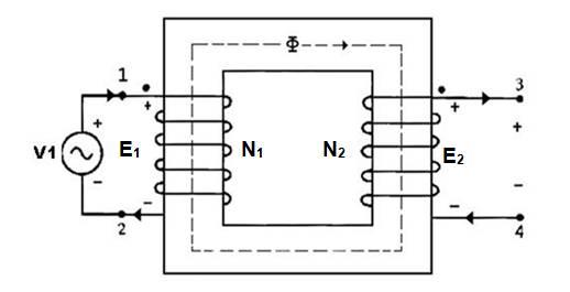 De 6 lesson 12 vector diagram and losses 121 transformer under no load condition ccuart Image collections
